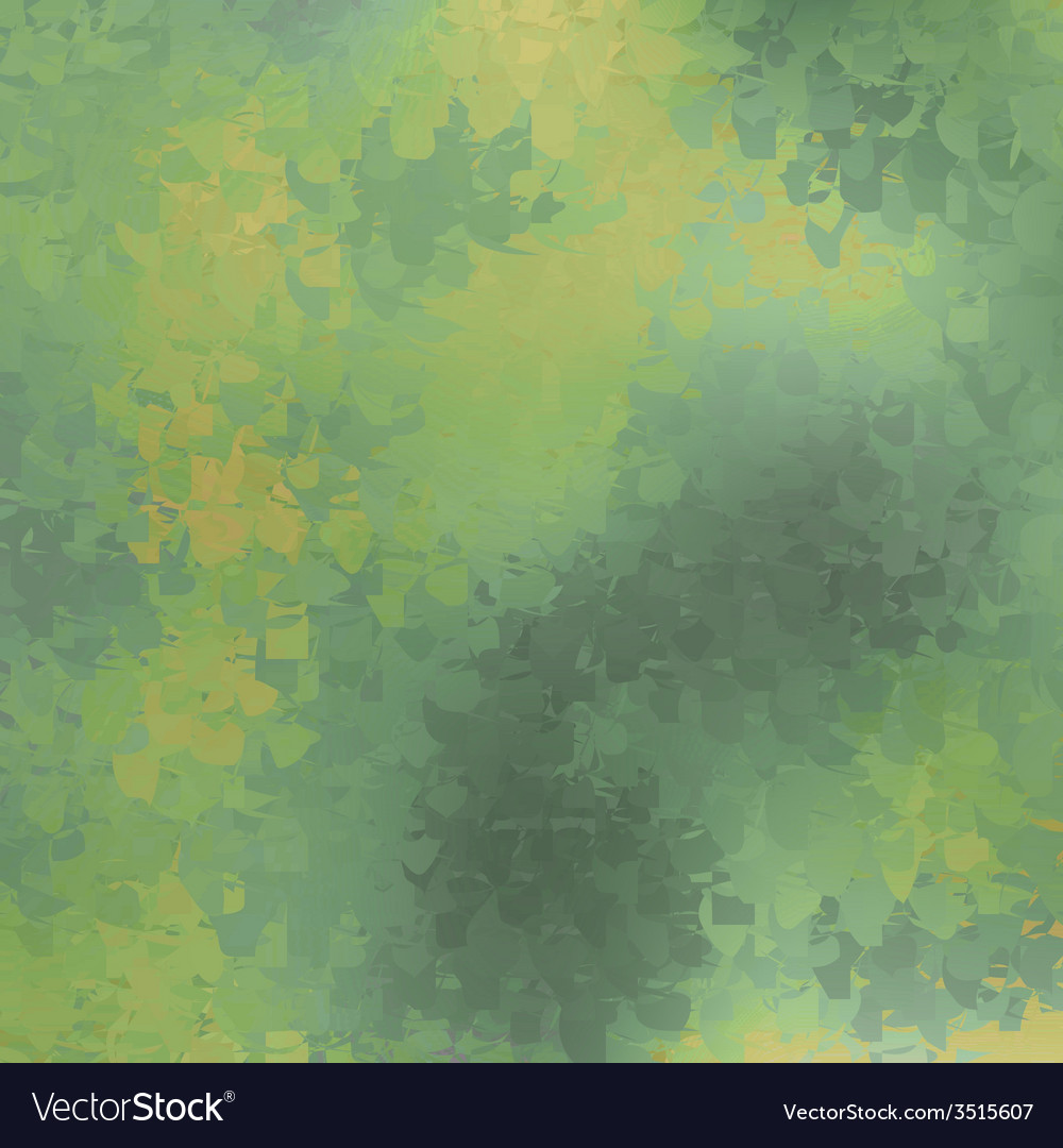 Shiny wave abstract background Green color