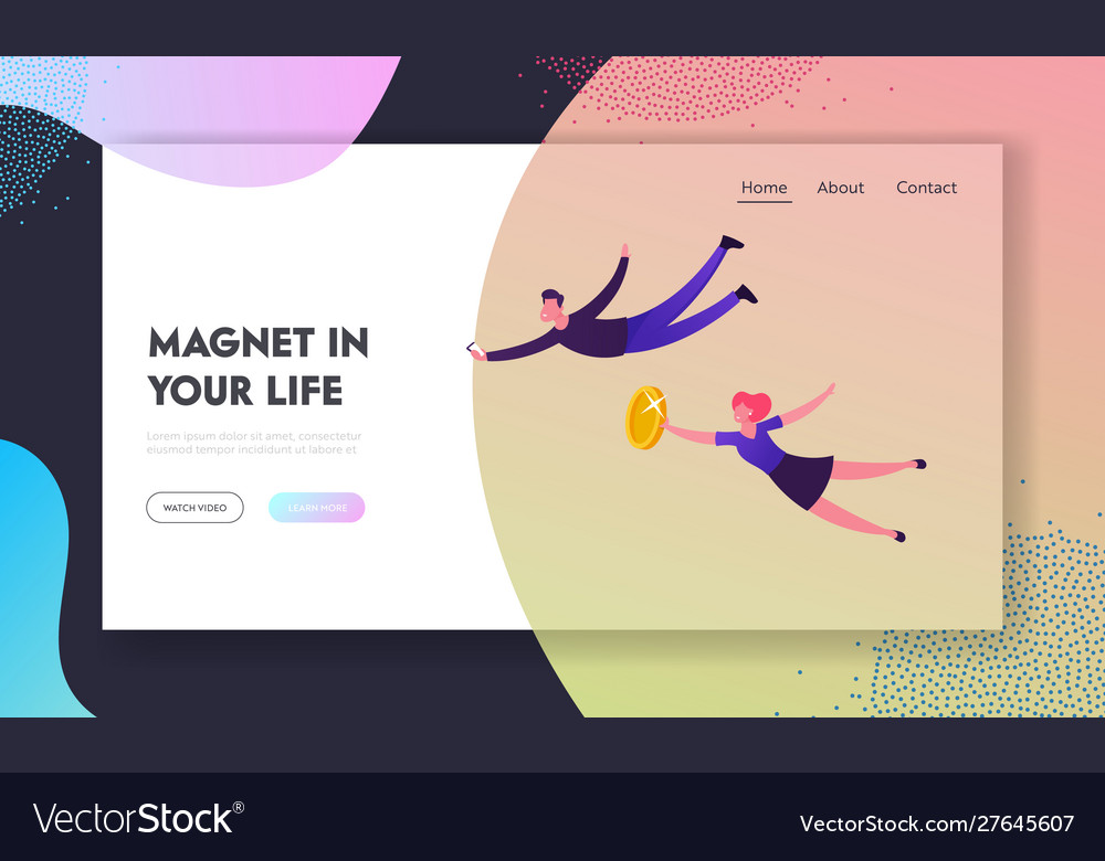 Social media strategy magnetism power website
