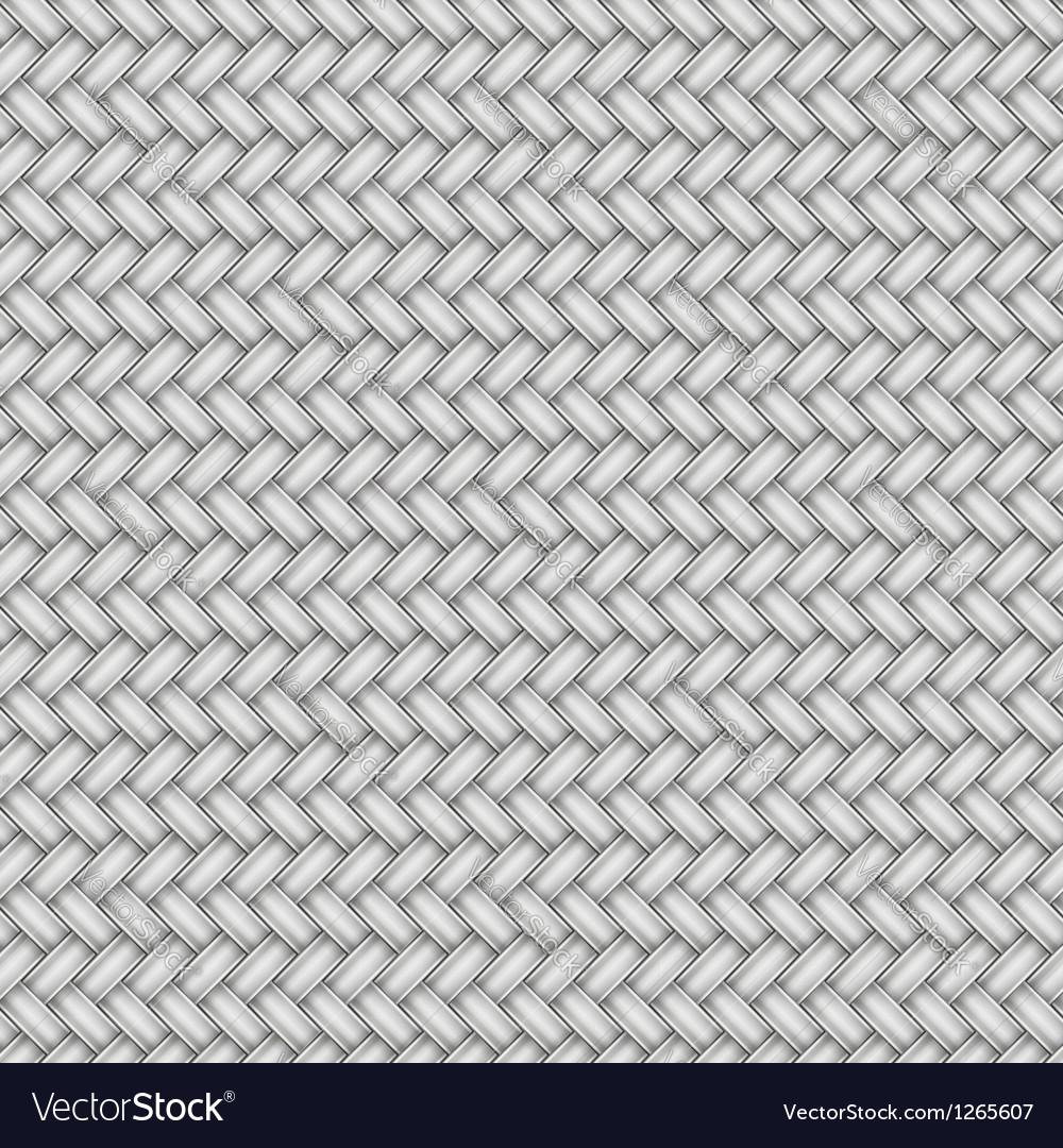 Wicker metal pattern