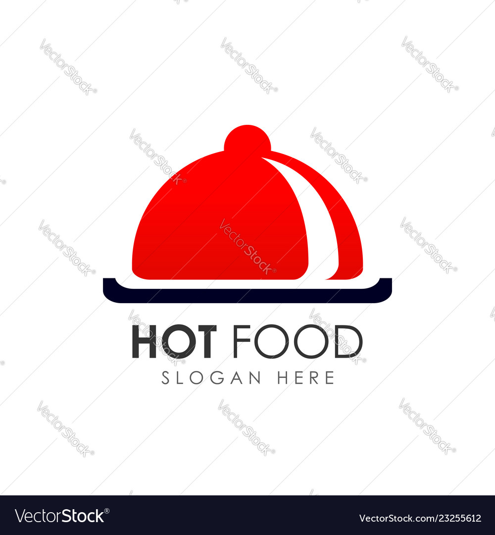 Hot Food Logo Design Icon Template