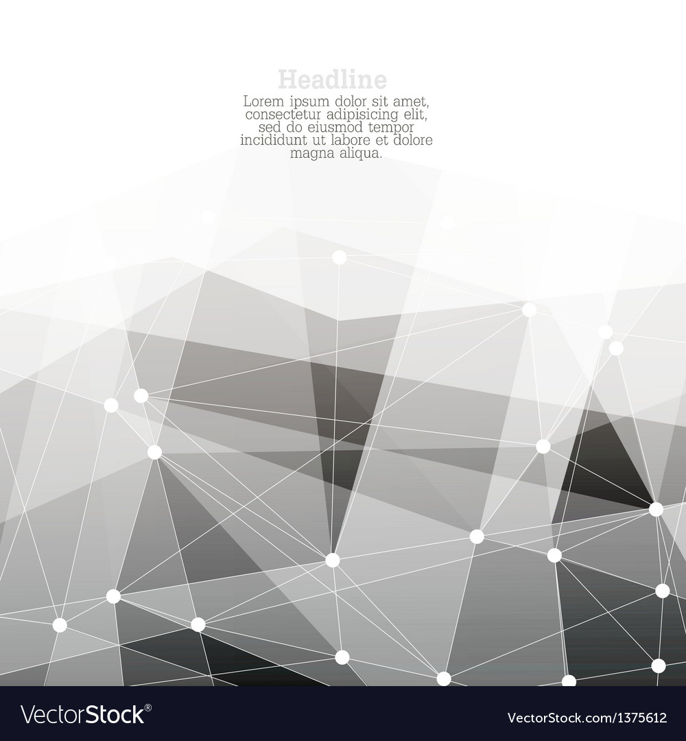Monochrome abstract background with copyspace
