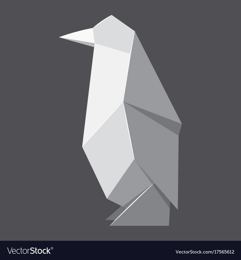 Easy Origami Penguin - YouTube | 1080x1000