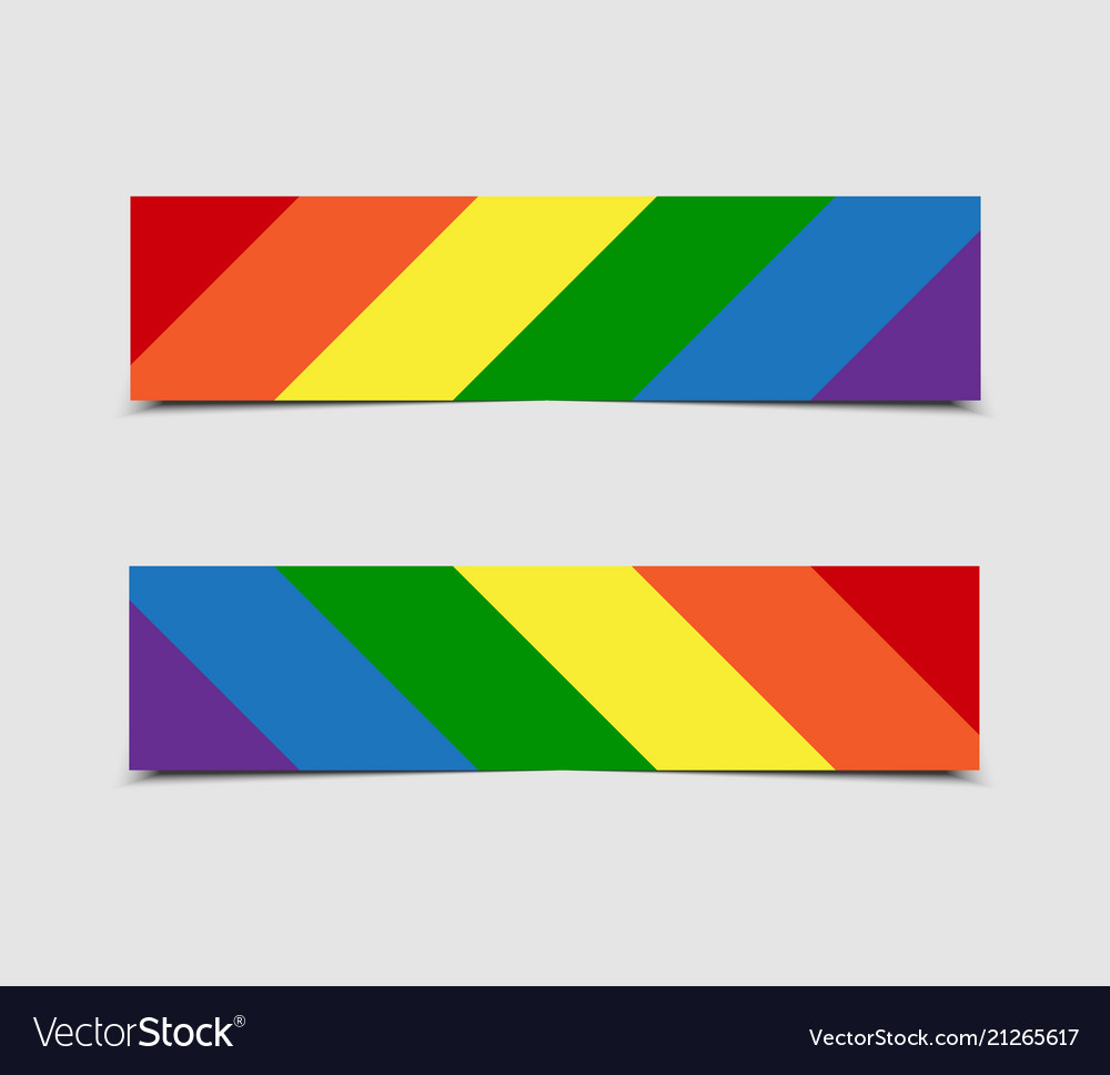 Lgbt pride flag stickers price tag label card