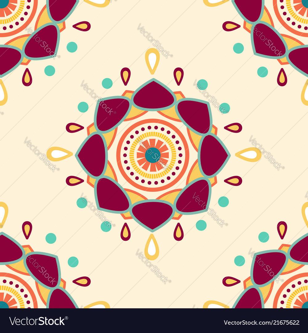 Abstract mandala background pattern