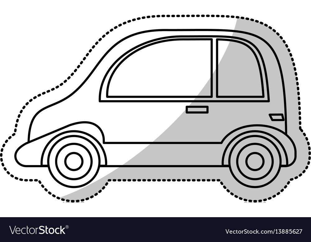 Automobile vehicle transport cut line