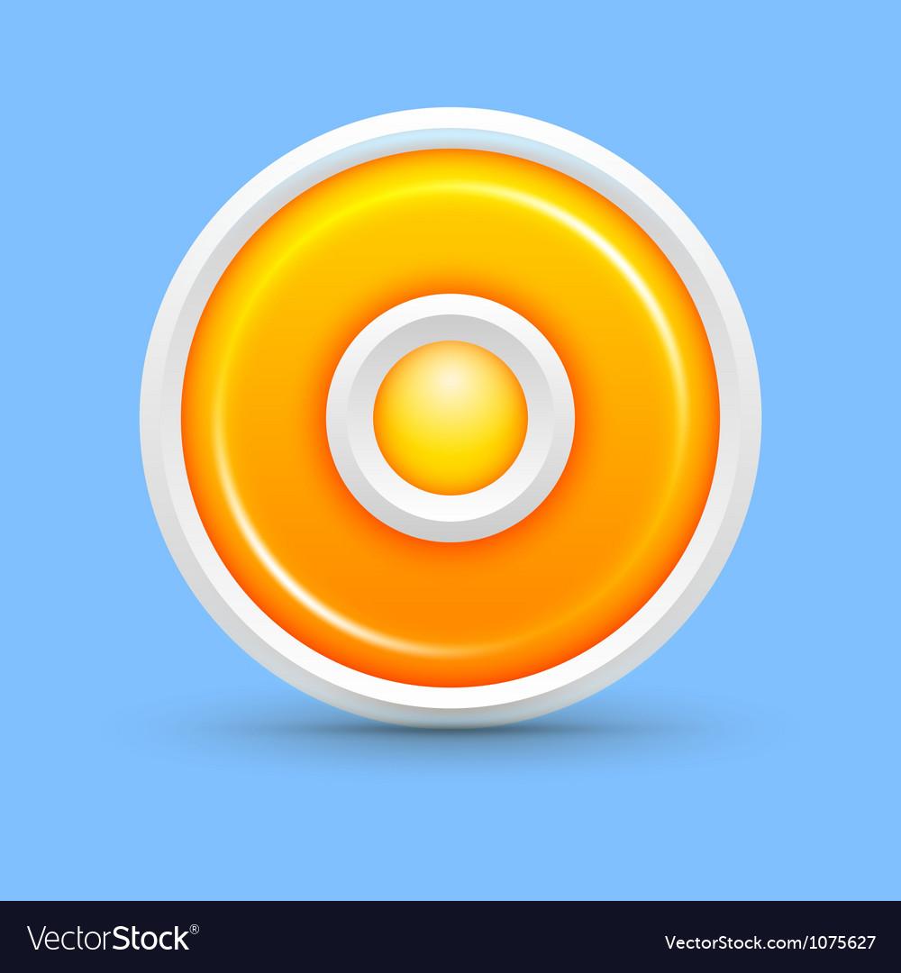 Circle web background vector image