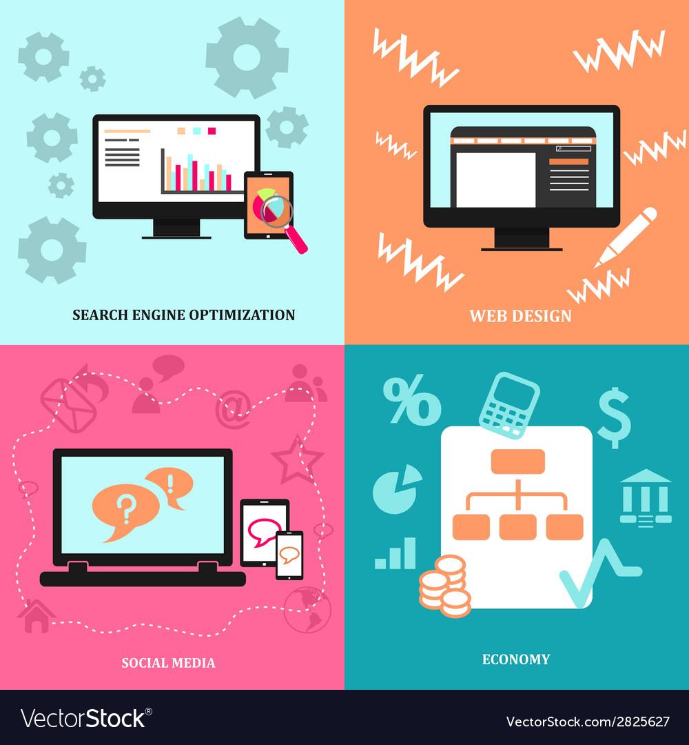 Design icon for web