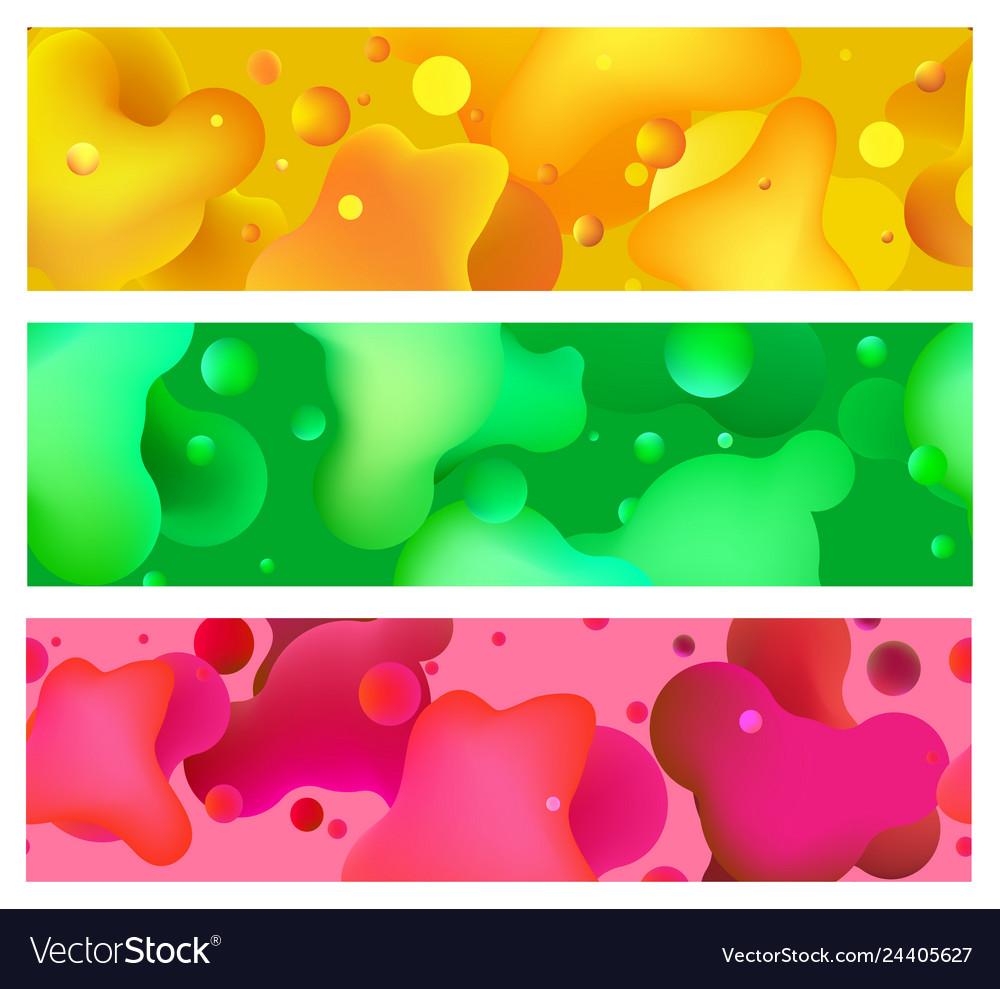 Organic gradients seamless patterns