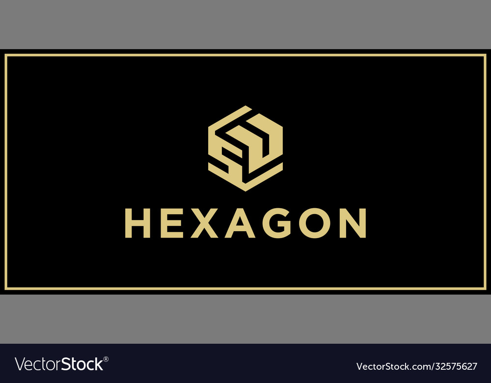 Su hexagon logo design inspiration