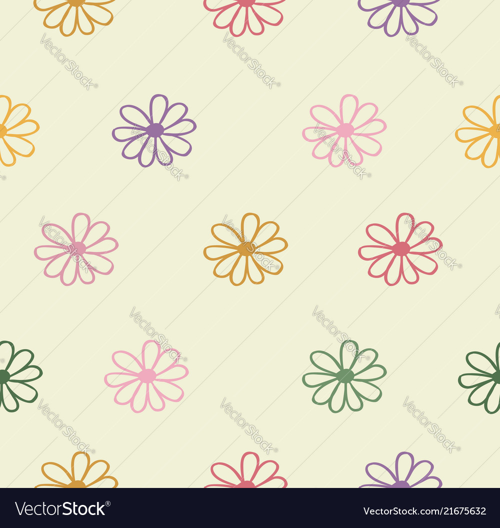Abstract flowers colors background
