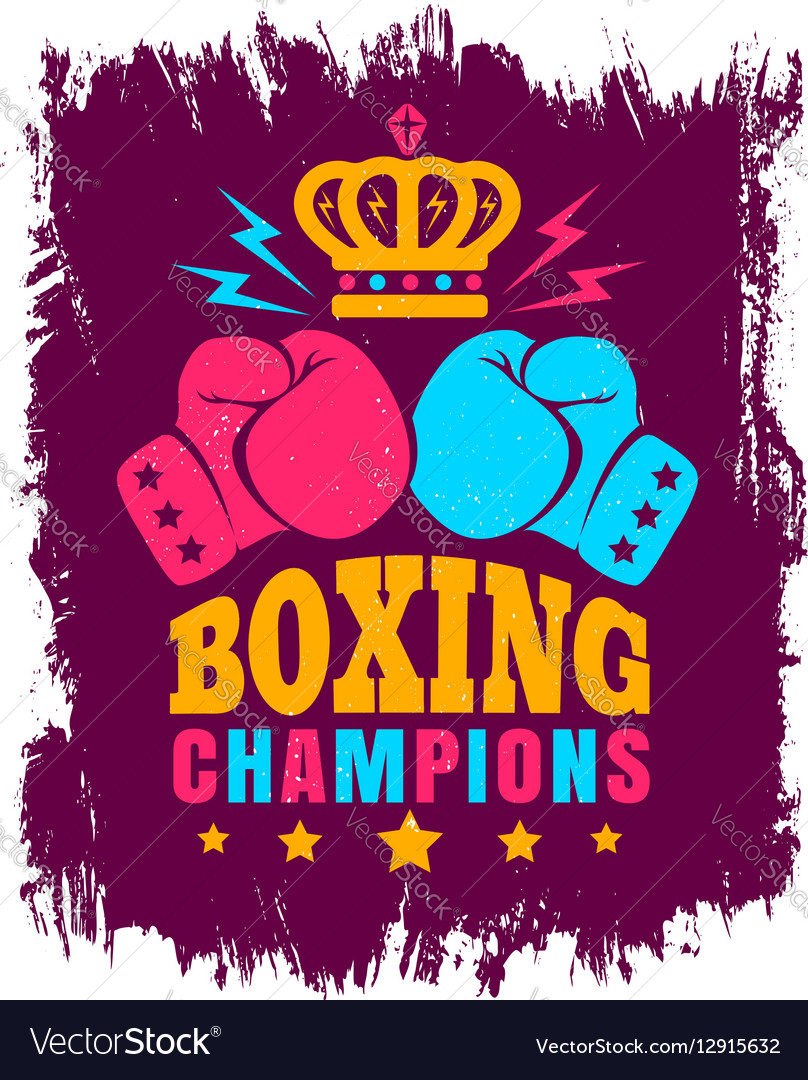 Boxing wine background vector image