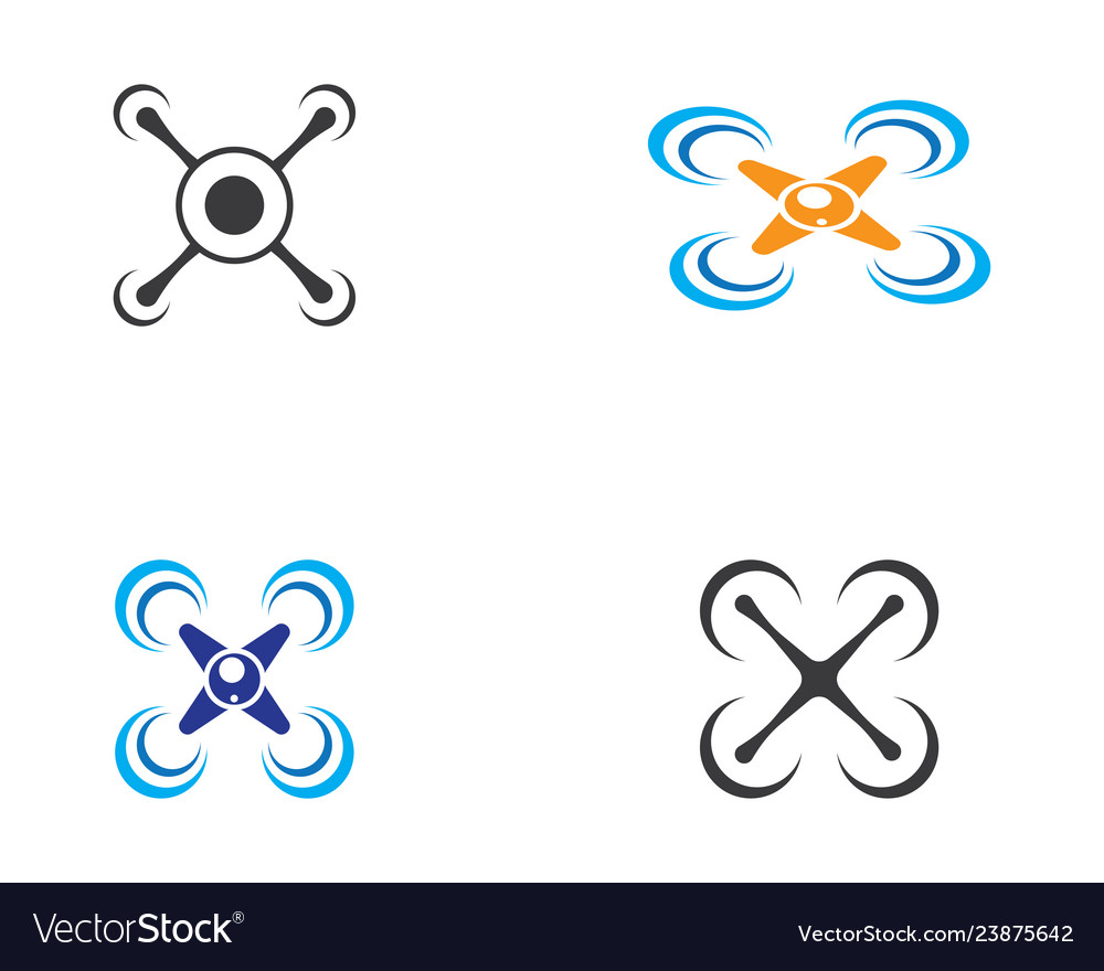 Drone logo icon