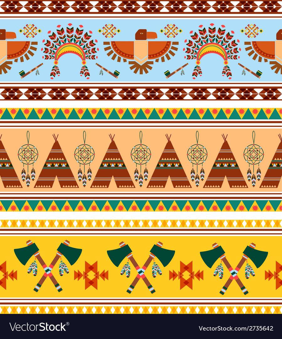 Tribal Ethnic Vintage Background