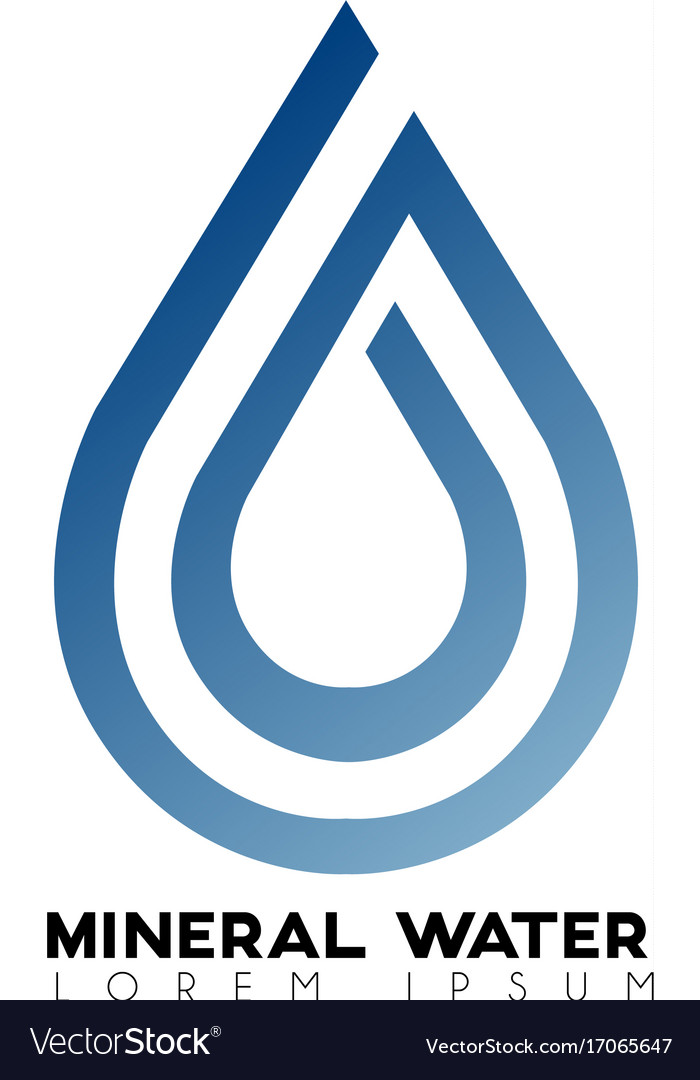 Mineral water logo
