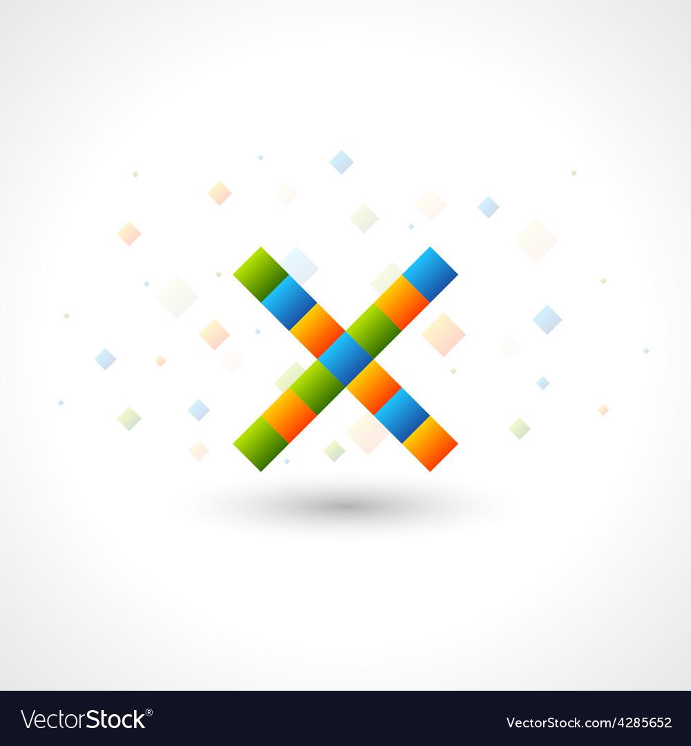 Abstact X Logo template