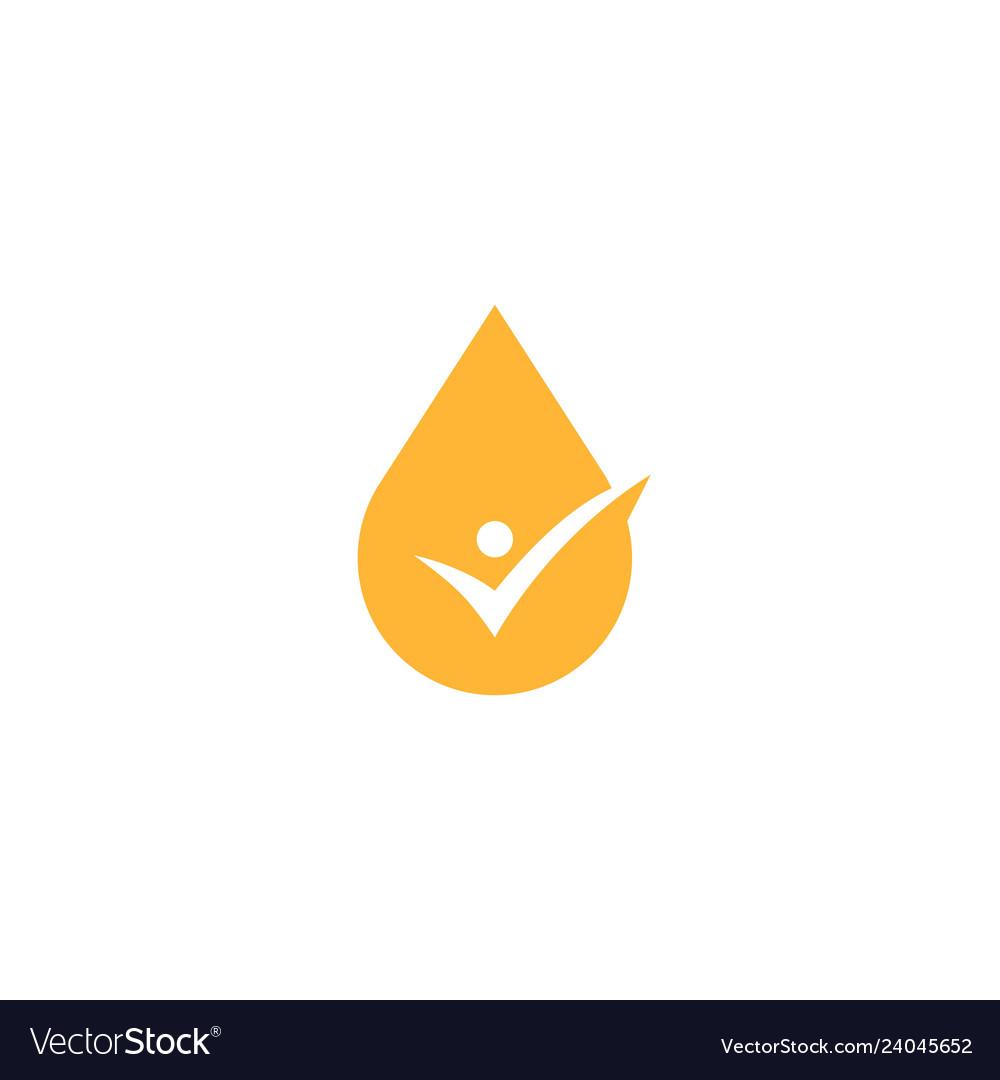 Oil check logo icon