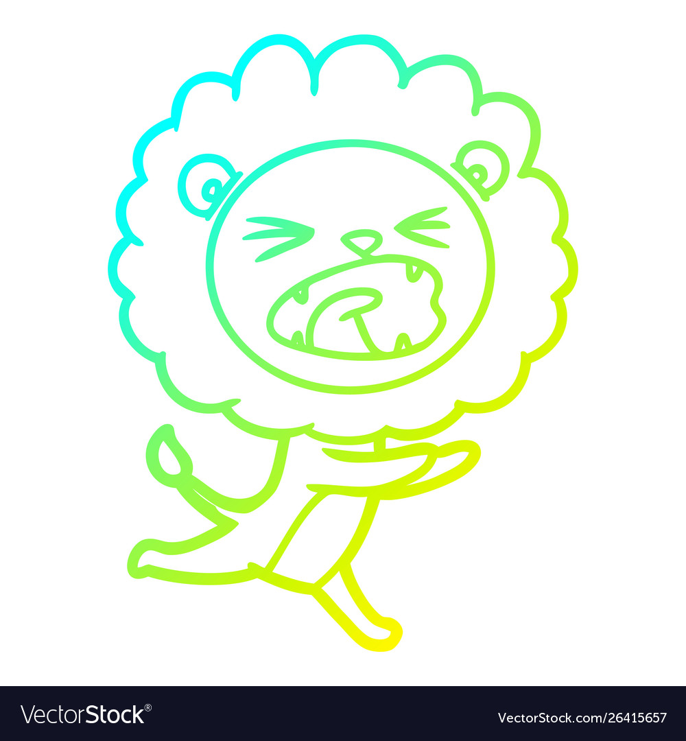 Lion Drawing Cartoon