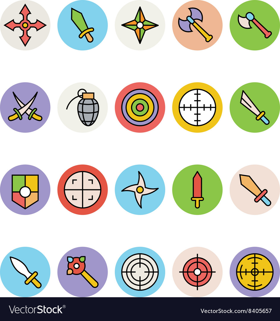 Weapons Icons 1