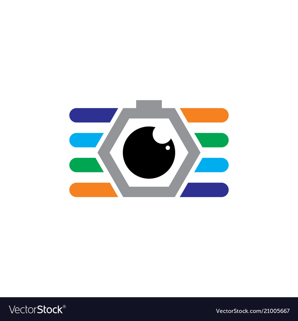Camera photography business logo