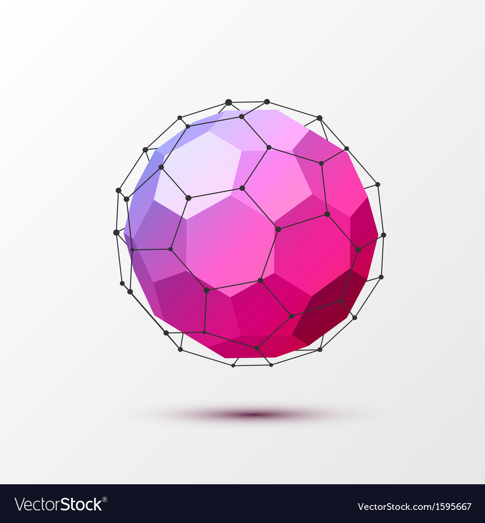 Geometrical background with black lines