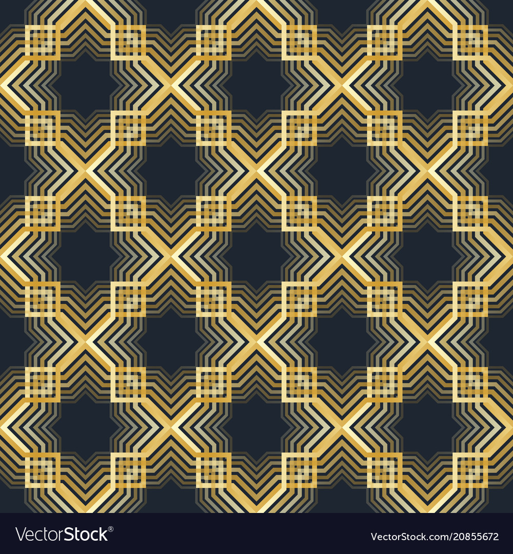 Geometric arabic seamless pattern islamic texture