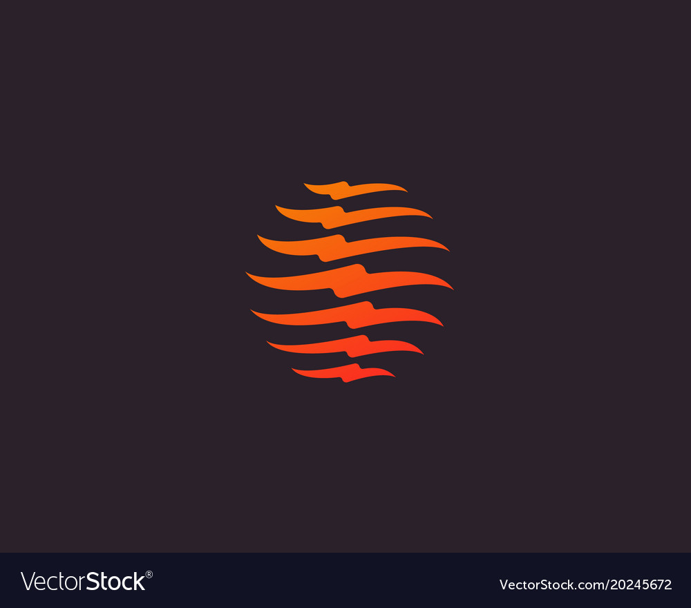 Spine logo design medical diagnostic vector image