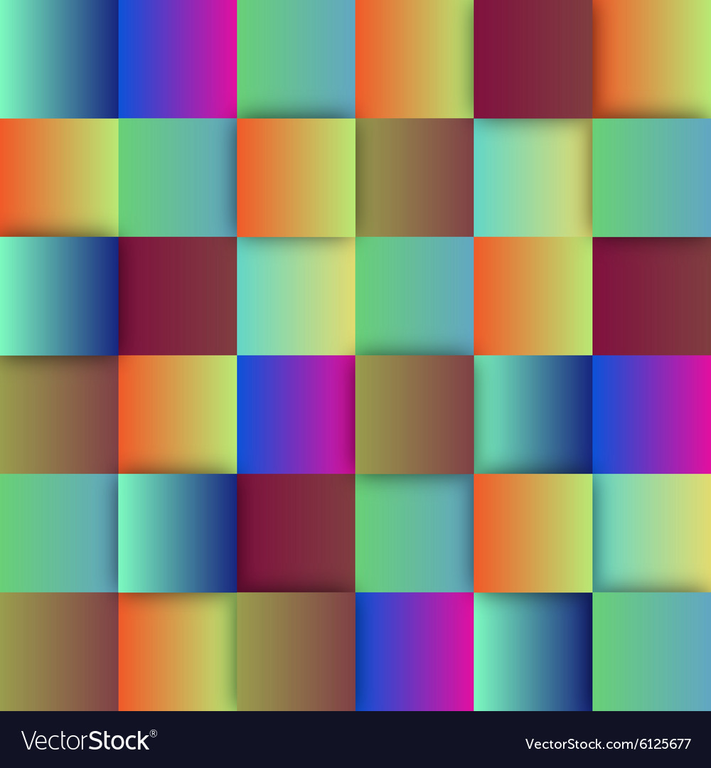 Colorful sqaures background