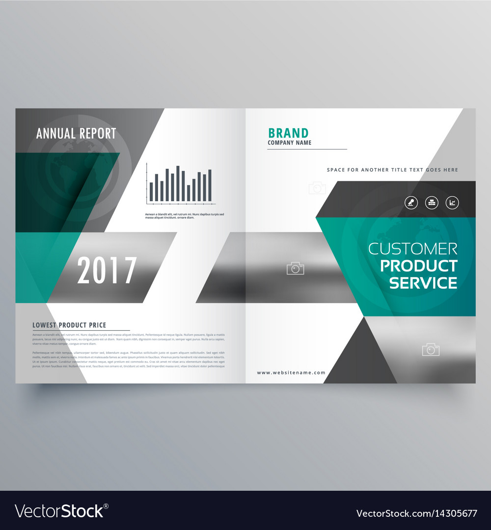 Professional business cover template design for