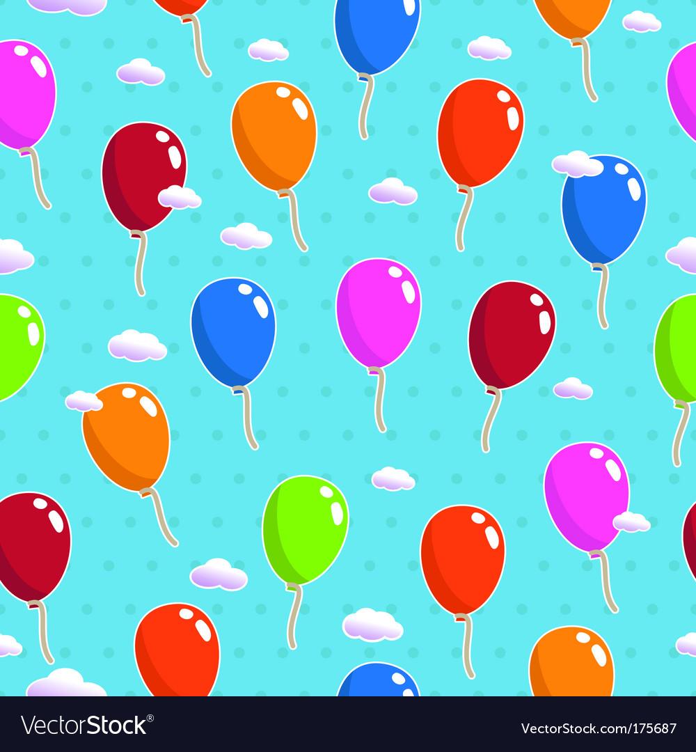 Balloon pattern seamless