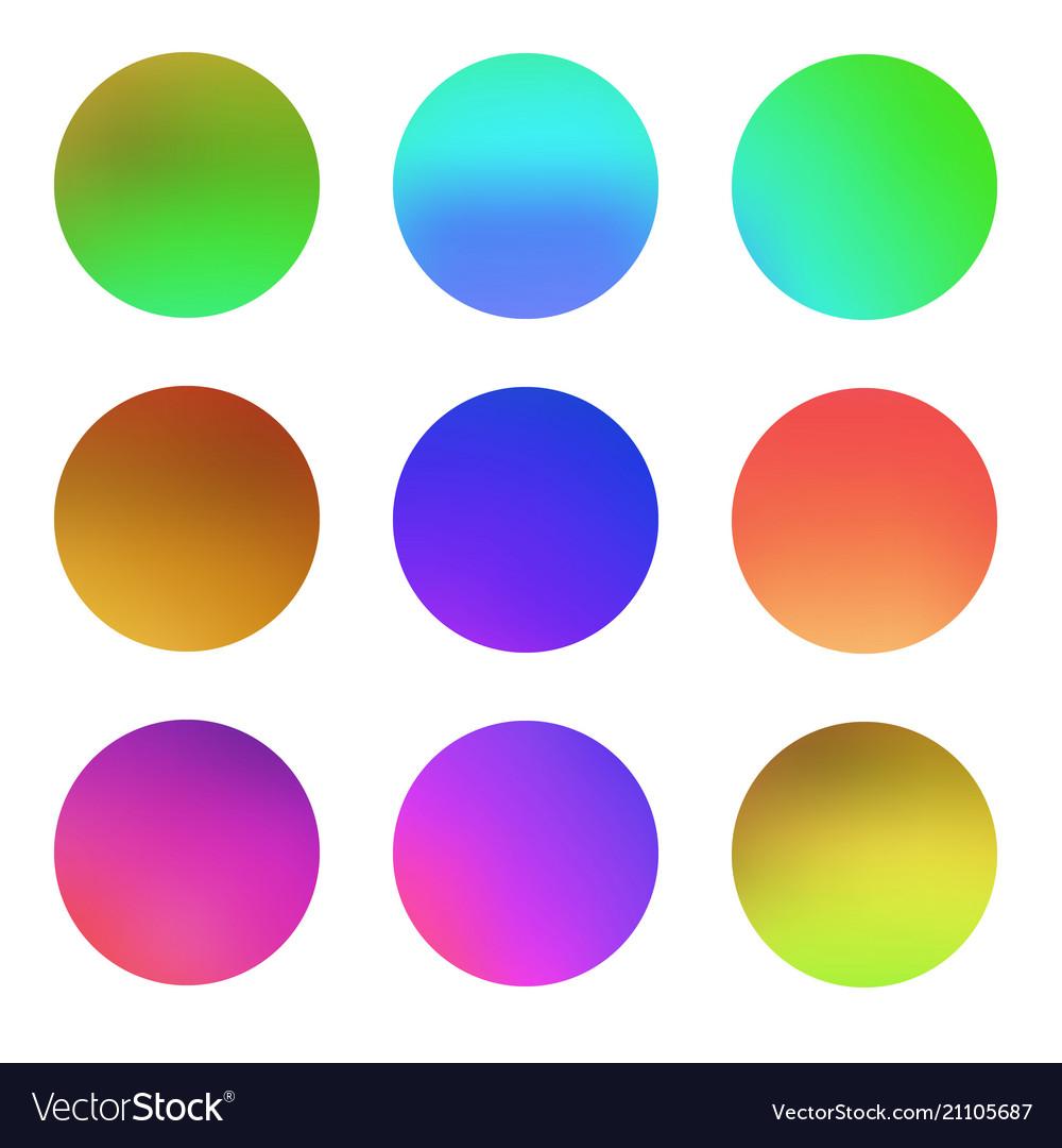 Round gradient set