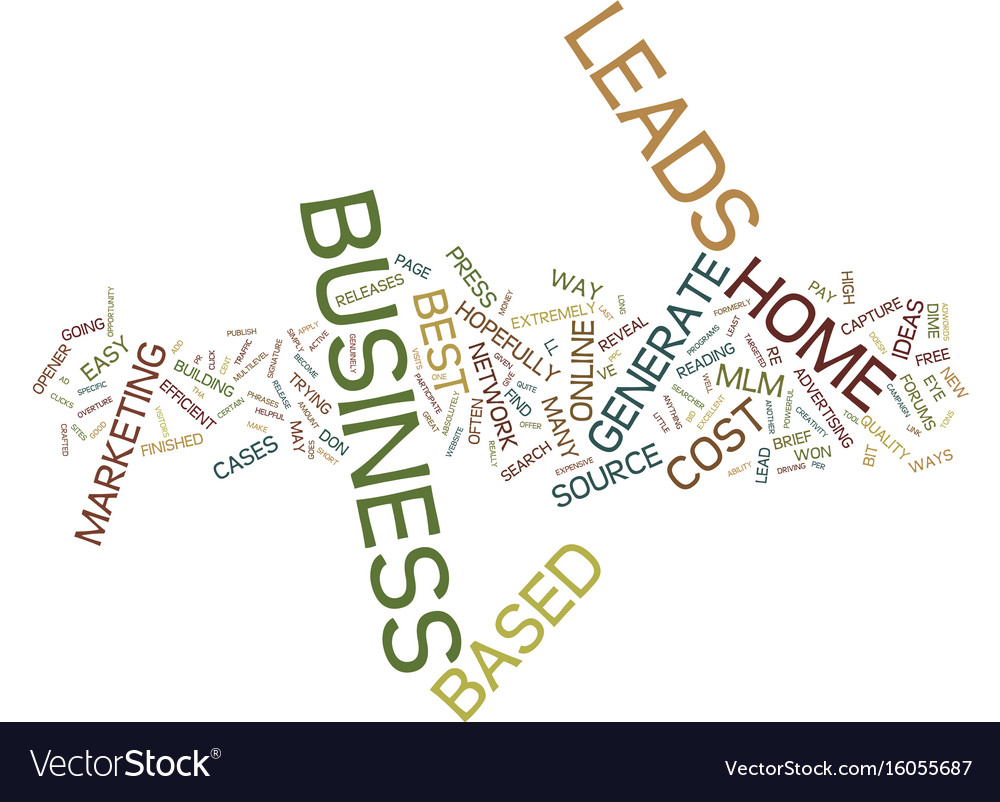 Attractive Buy Leads For Home Based Business Ornament - Home ...