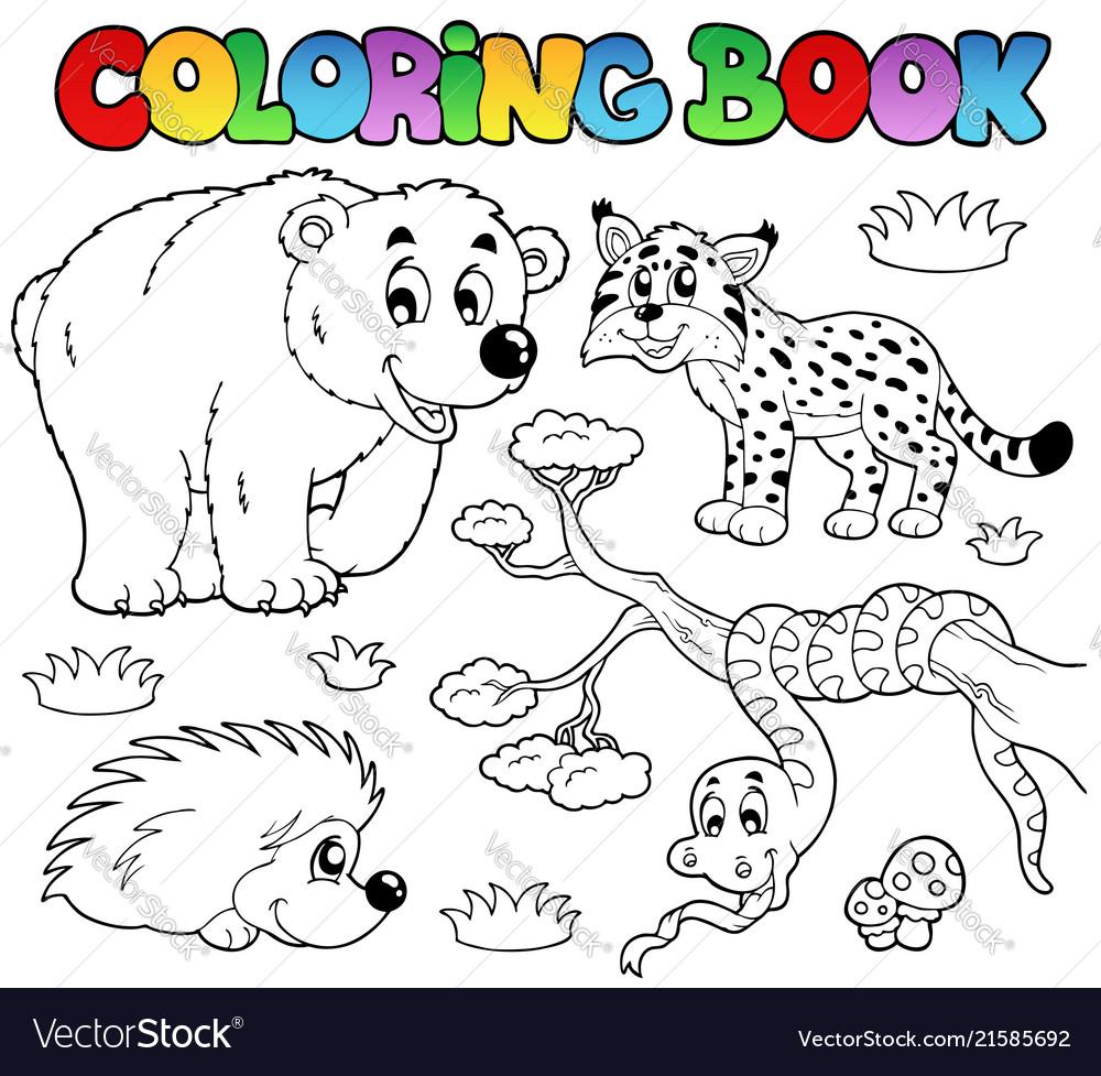forest animals coloring book - Vapha.kaptanband.co