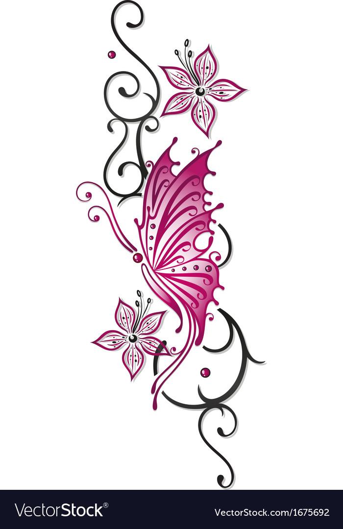 Flowers floral element
