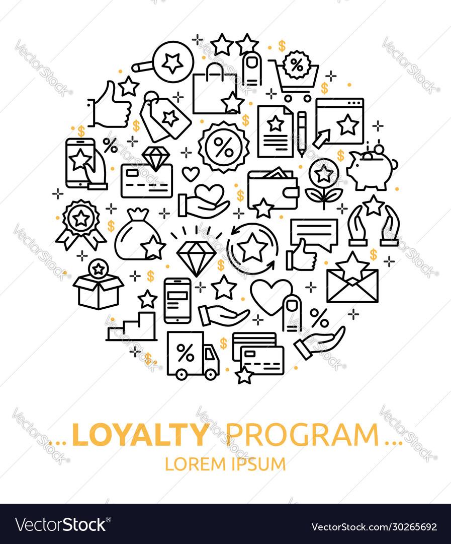 Loyalty program background