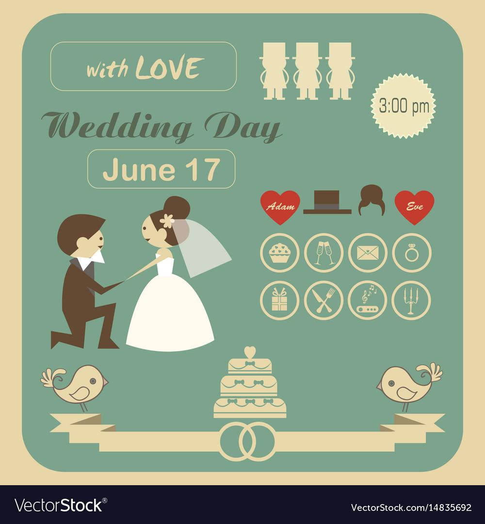 Cdn3 Vectorstock Com I 1000x1000 56 92 Wedding Inv