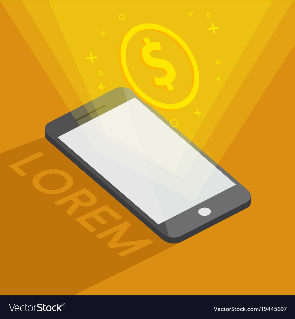 Banking online by phone