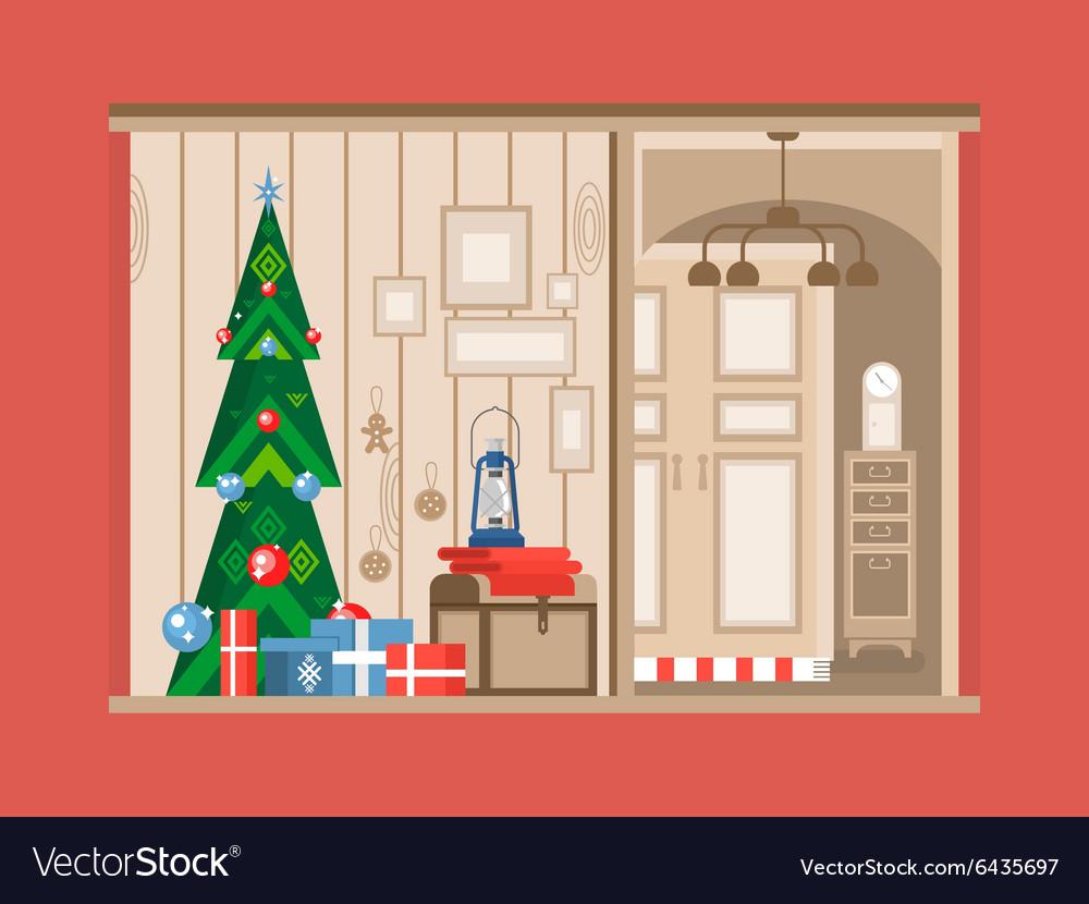 Christmas tree interior