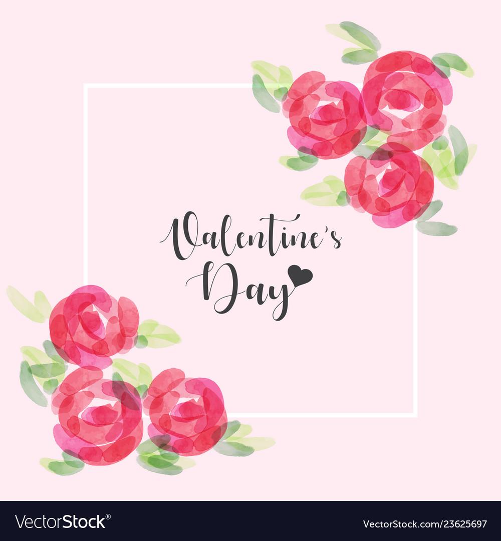 Valentines dayhand drawn