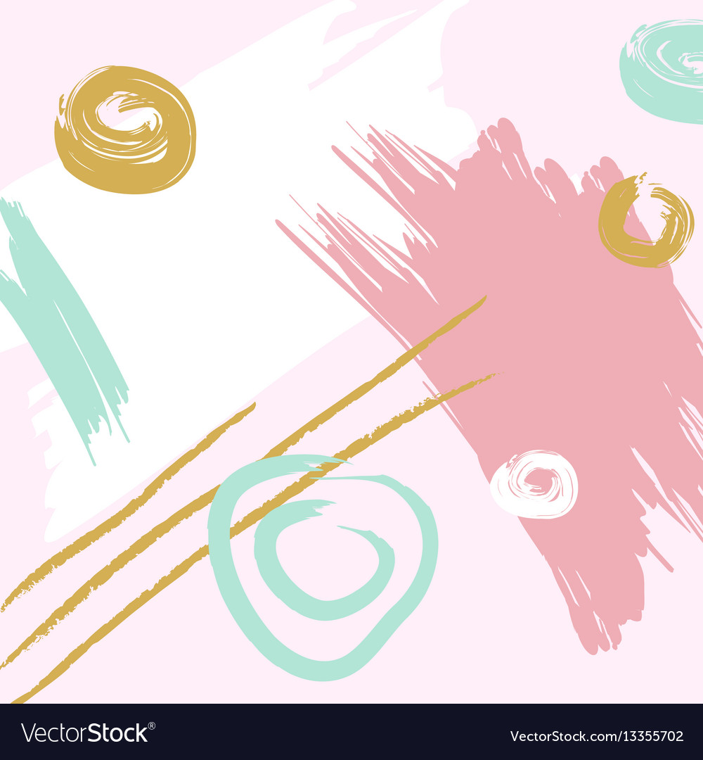 Artistic abstract colorful background vector image