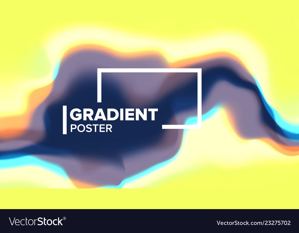 Gradient fluid background minimal
