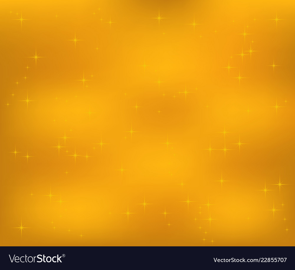 Christmas gold background with snowflakes