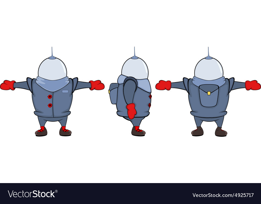 Video game character astronaut sheet cartoon