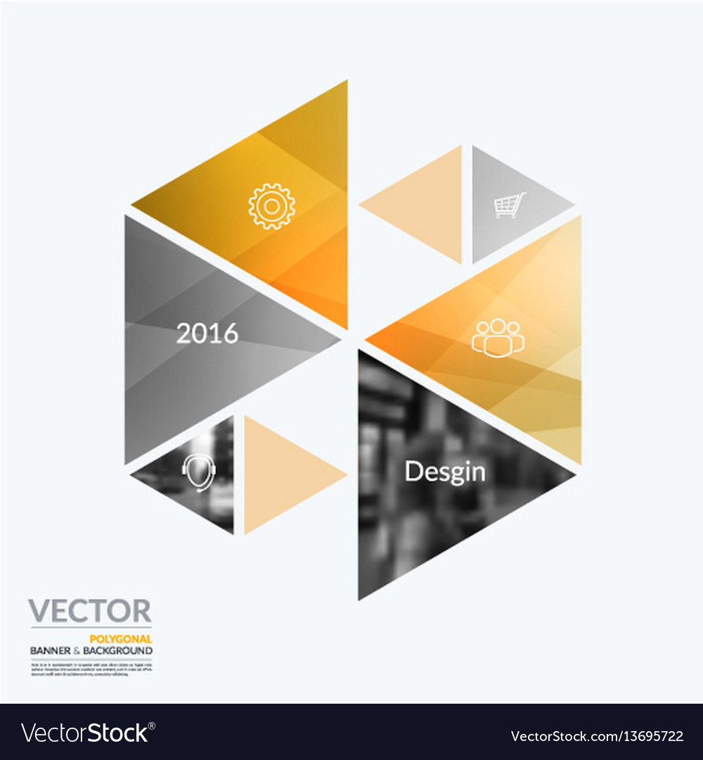 Business design elements for graphic layout
