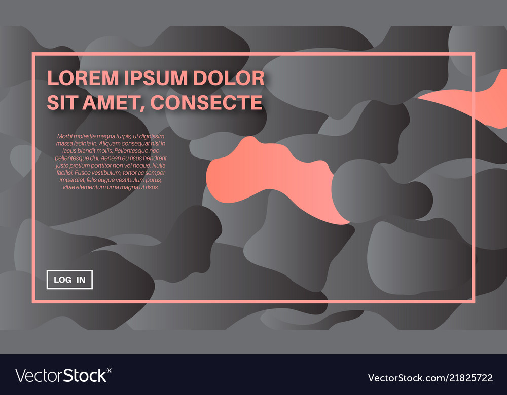 Organic shapes abstract background