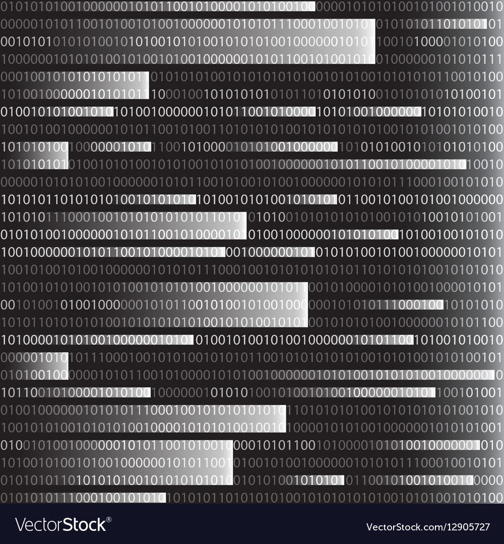 Background in a matrix style Falling random
