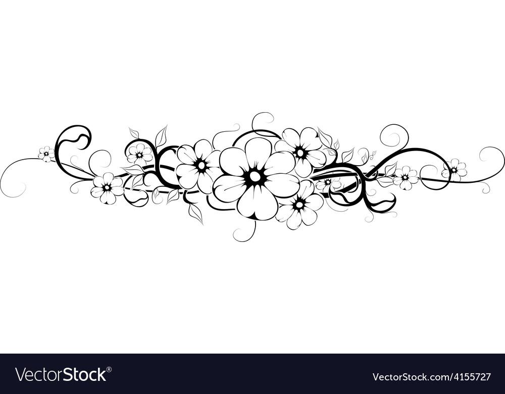 Flower tattoo 3