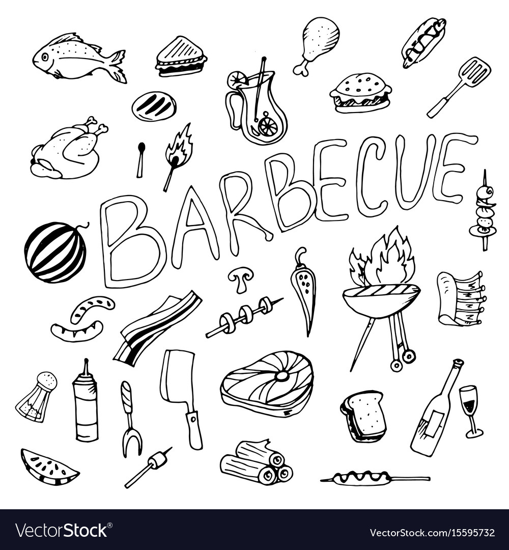 Doodle barbecue