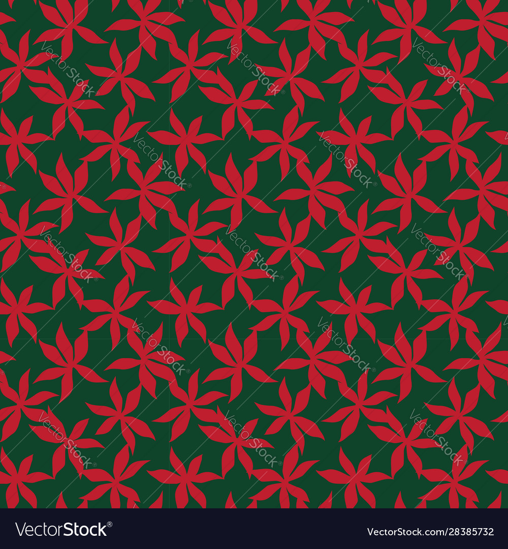 Tropical Floral Seamless Pattern Background Vector Image