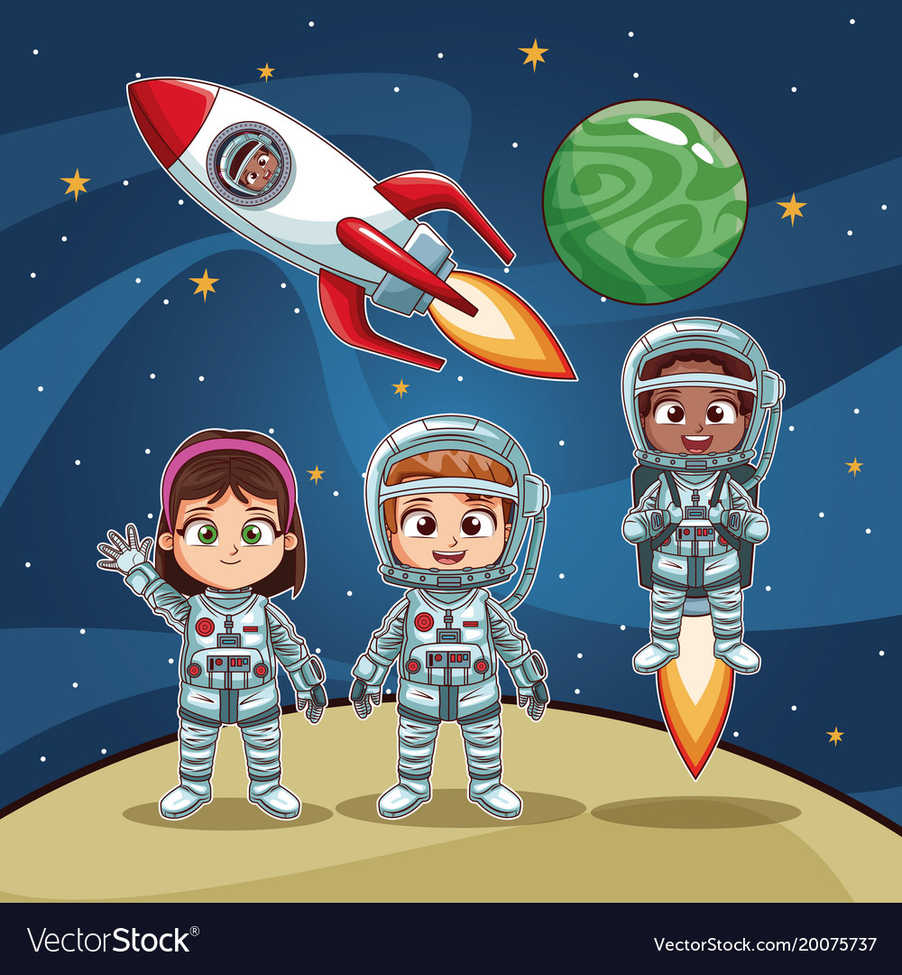 astronaut kid space - photo #17