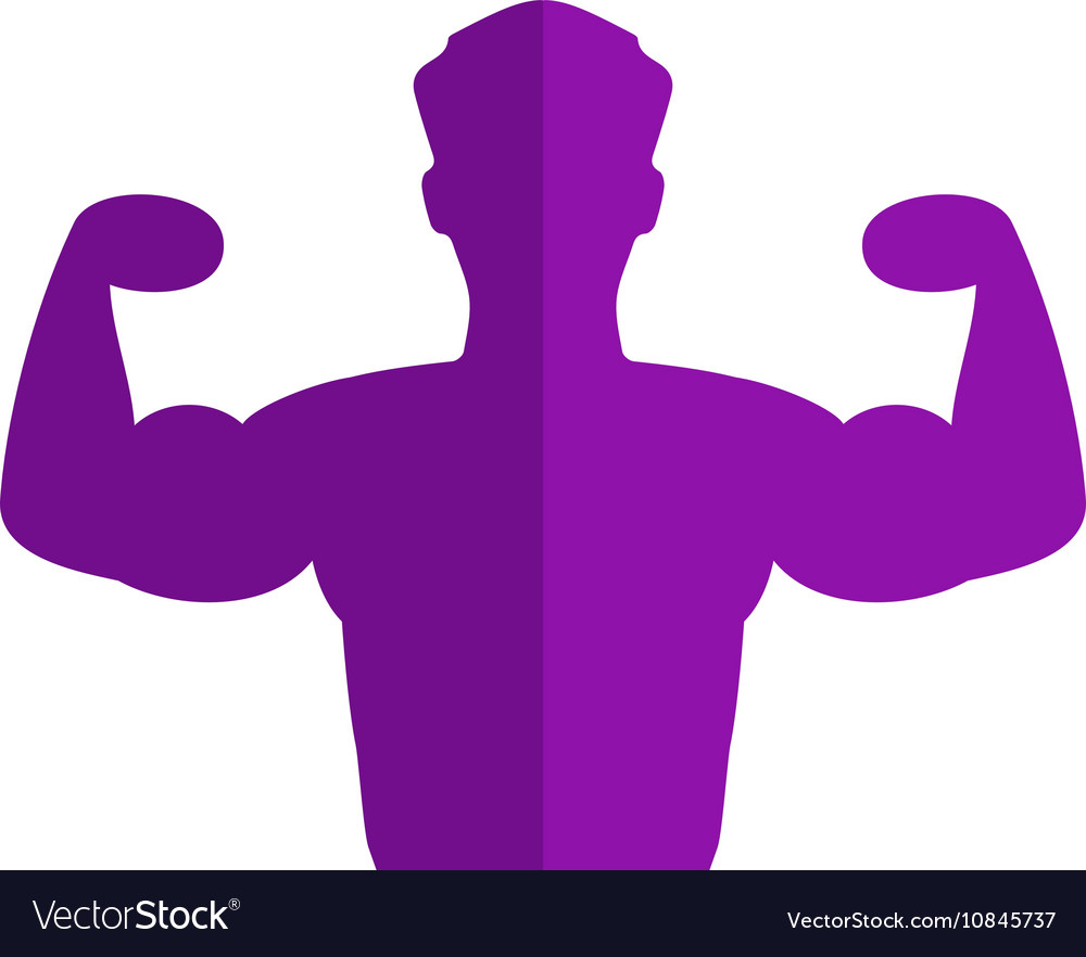 Powerful Icon vector image